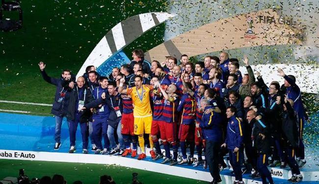 Para o Barcelona, a conquista marca um domínio recente no Mundial - Foto: Agência Reuters