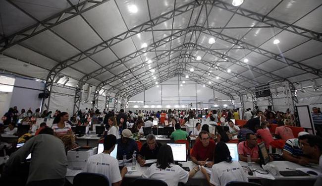 A prorrogação garante aos contribuintes baianos aproveitar os descontos de até 85% - Foto: Raul Spinassé | Ag. A TARDE