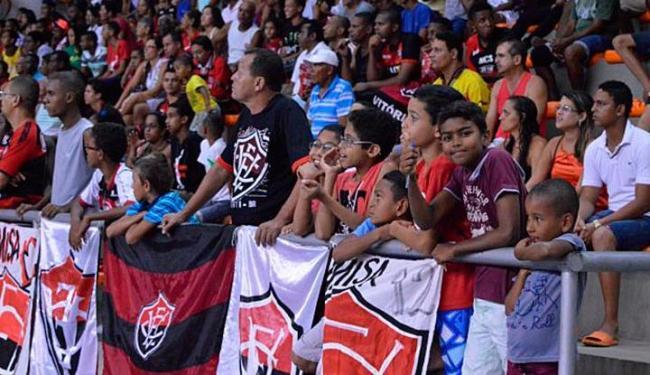 Torcedor que desejar assistir a partida, deve procurar o Ginásio de Cajazeiras para fazer a troca - Foto: Francisco Galvão | EC Vitória | Divulgação