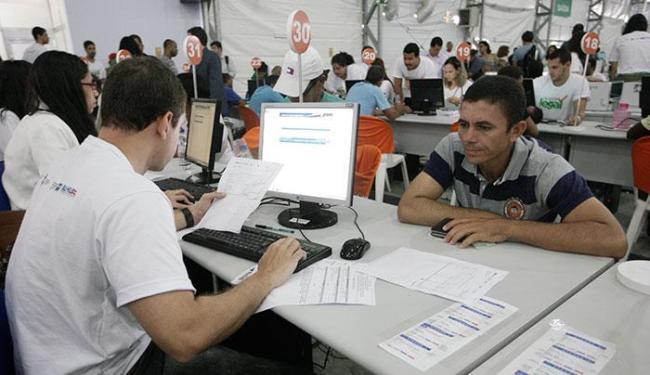 Em Salvador, cerca de 23 mil atendimentos foram realizados no Acordo Legal - Foto: Lúcio Távora   Ag. A TARDE