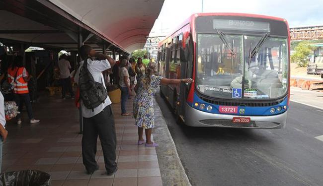 Ônibus que circulam na Cardeal da Silva terão itinerários modificados - Foto: Xando P. | Ag. A TARDE