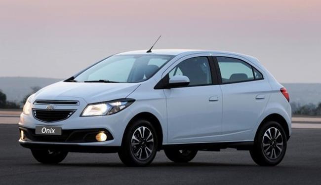 Onix é o carro mais vendido no Brasil - Foto: Divulgação Chevrolet