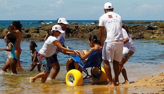Ação ocorrerá nas praias de Ondina (janeiro) e da Ribeira (fevereiro) - Foto: Eduardo Martins   Ag. A TARDE   03.01.2015