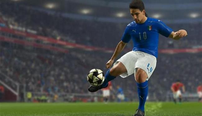 O craque italiano da década de 90 será um dos destaque do novo game da Konami - Foto: Reprodução