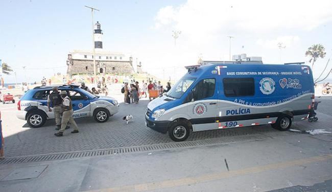 Policiais militares atuarão em pontos turísticos da capital, como o Farol da Barra - Foto: Fernando Amorim l Agência A TARDE