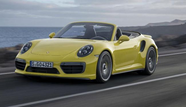 Versão topo da gama em Detroit - Foto: Divulgação Porsche