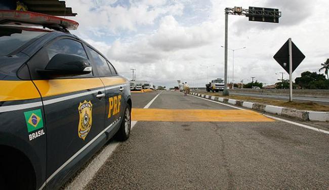 Polícia Rodoviária Federal (PRF) registrou redução de acidentes com relação ao ano passado - Foto: Fernando Amorim | Ag. A TARDE