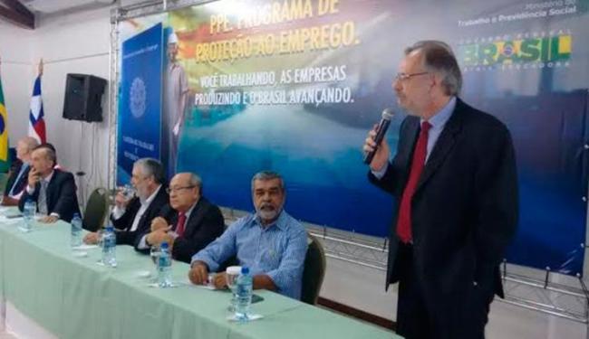 Ministro do Trabalho, Miguel Rossetto, apresentou balanço do PPE - Foto: Edilson Lima | Ag. A TARDE
