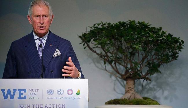 O príncipe é um militante do assunto - Foto: Christian Hartmann | Reuters | 01.12.2015