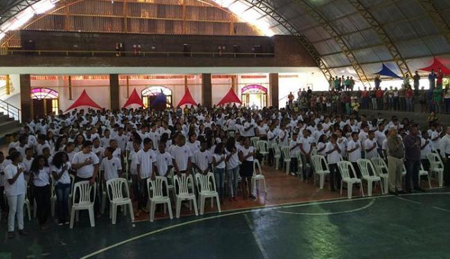 Se formaram 917 alunos de três unidades escolares do 5º e 7º anos do Ensino Fundamental - Foto: Divulgação