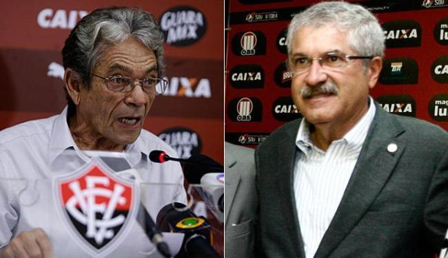 Líderes dos grupos, Viana e Rocha trocaram acusações nesta sexta-feira, 11 - Foto: Luciano da Matta e Raul Spinassé l Ag. A TARDE