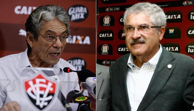 O grupo de Raimundo Viana leva vantagem perante o liderado por José Rocha - Foto: Luciano da Matta e Raul Spinassé l Ag. A TARDE