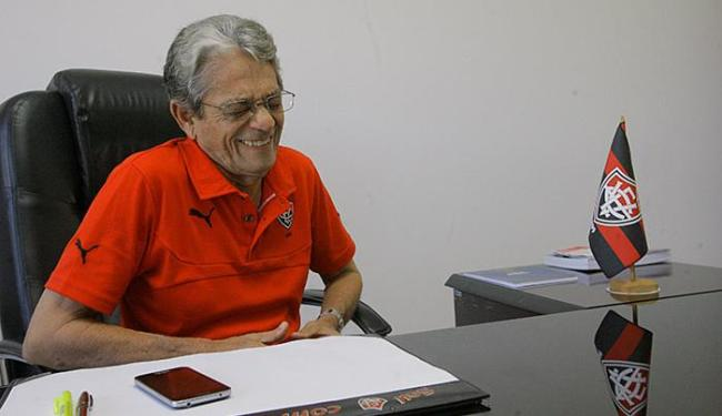Raimundo Viana, presidente do Vitória - Foto: Margarida Neide l Ag. A TARDE