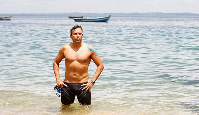 Ricardo Serravalle se diz pronto para 24 horas no mar - Foto: Adilton Venegeroles l Ag. A Tarde