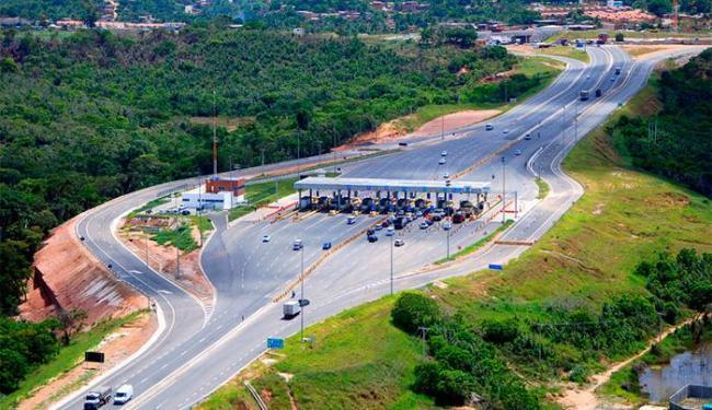 Fluxo de veículos é tranquilo na BA-093 - Foto: Reprodução | Concessionária Bahia Norte