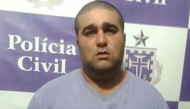 Rony foi preso em Canarana e é suspeito de participar de assalto a banco em Barro Alto - Foto: Divulgação | Ascom Polícia Civil