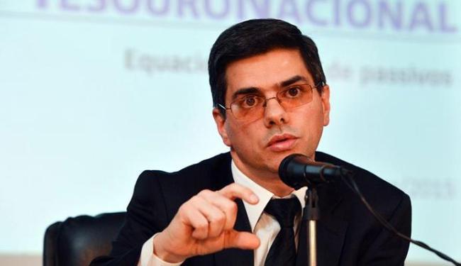 Secretário interino do Tesouro Otávio Ladeira concedeu entrevista para falar do pagamento - Foto: Fabio Rodrigues Pozzebon   Agência Brasil