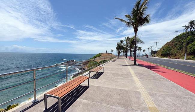 As intervenções compreendem cerca de 1 km de extensão, entre o Barra Center e o Clube Espanhol - Foto: Divulgação   Prefeitura de Salvador
