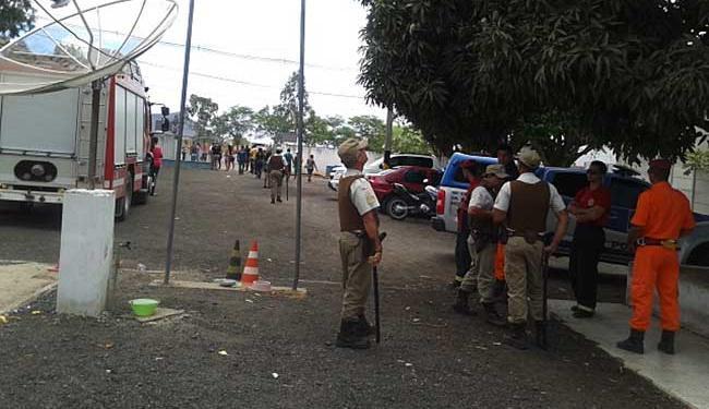 Rebelião começou apos uma tentativa frustada de fuga - Foto: Blog Maravilha Notícias