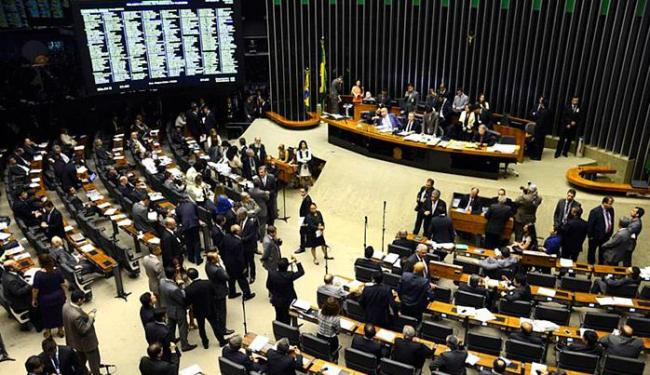 Sessão do Congresso Nacional analisa e vota projetos orçamentários - Foto: Valter Campanato l Agência Brasil