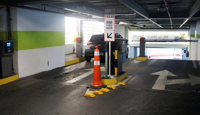 O Barra implantará o sistema em todos os seus acessos de estacionamento - Foto: Divulgação   Texto e cia