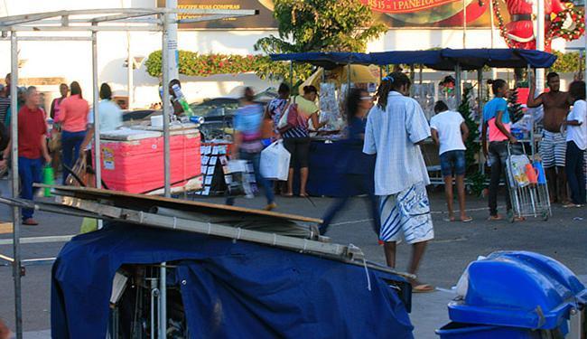 Tentativa de homicídio ocorreu perto do Shopping da Bahia. Suspeito ainda não foi detido - Foto: Mila Cordeiro | Ag. A TARDE