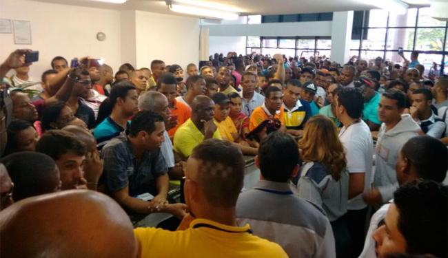 SineBahia informou que não teria como atender a demanda de candidatos - Foto: Edilson Lima | Ag. A TARDE