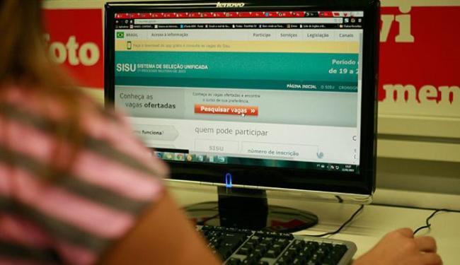 Há 114 mil vagas remanescentes na rede federal, 36 mil na rede estadual e 26 mil na municipal - Foto: Joá Souza | Ag. A TARDE
