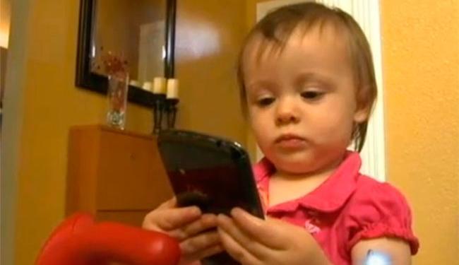 Sorella estava brincando com aparelho quando efetuou a compra - Foto: Reprodução