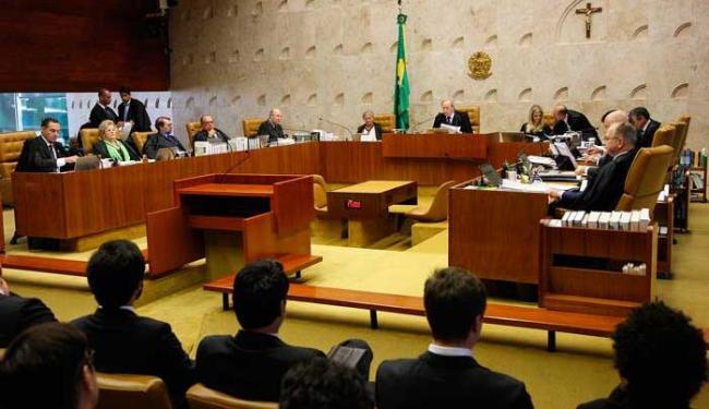 Oito ministros do Supremo Tribunal Federal (STF) votaram na sessão - Foto: Carlos Humberto/SCO/STF