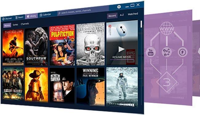 Uma das telas do Strem.io - Foto: Reprodução   Strem.io