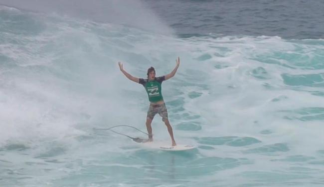 A maioria dos 32 competidores era de havaianos nativos - Foto: Reprodução   WSL