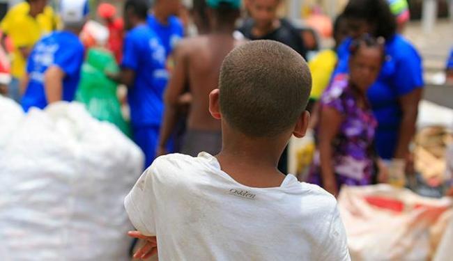 No mundo, há 168 milhões de crianças em situação de trabalho infantil - Foto: Joá Souza | Ag. A TARDE 02.03.2014