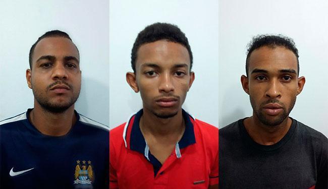 O trio já praticou assaltos também no interior, inclusive, um sequestro relâmpago - Foto: Divulgação | Polícia Civil