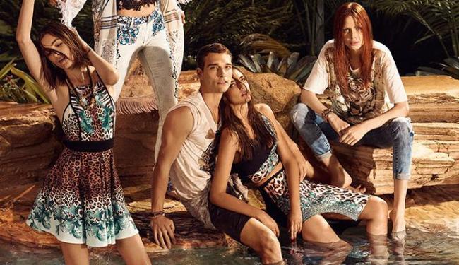 Modelos usam peças da nova coleção de verão da marca Triton - Foto: Zee Nunes   Divulgação