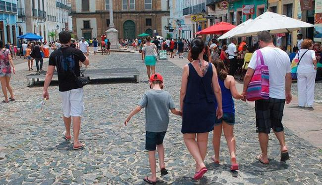 Turistas já invadem Salvador - Foto: Bruno Rocha | Agecom Salvador