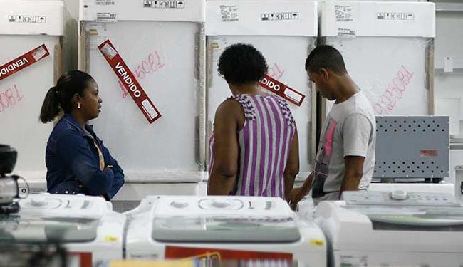 Setor de eletrodomésticos foi um dos que apresentou resultado positivo - Foto: Raul Spinassé | Ag. A TARDE