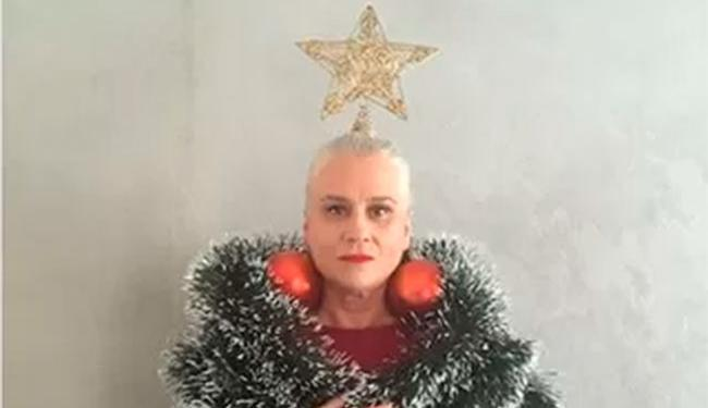Atriz brincou com possível figurino de Natal - Foto: Reprodução | Instagram