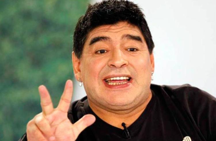 A confirmação de Maradona como embaixador marca o fim de uma série de rusgas com a Fifa - Foto: Agência Reuters