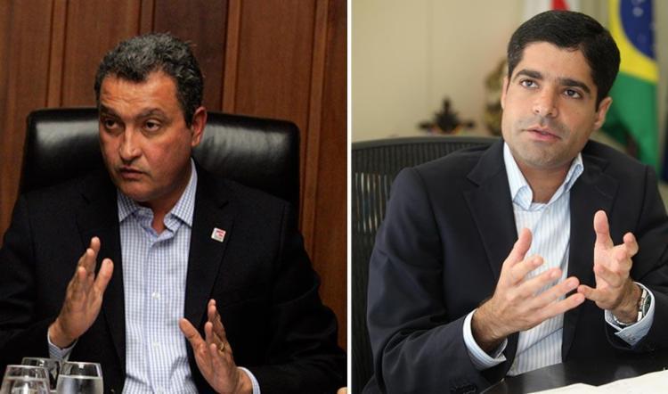 Rui Costa e ACM Neto são possíveis candidatos na eleição em 2018 - Foto: Fotos: Joá Souza e Edilson Lima | Ag. A TARDE