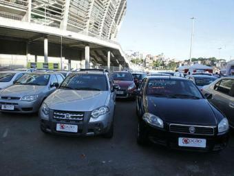 Feirão reuni 500 carros e 14 lojistas - Foto: Lúcio Tavora | Ag. A TARDE