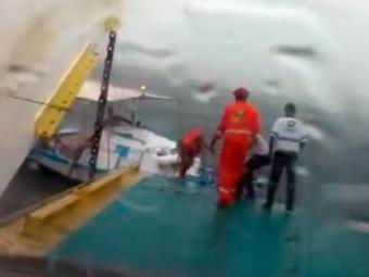 Passageiros foram regatados a pedido da Capitania dos Portos - Foto: Reprodução