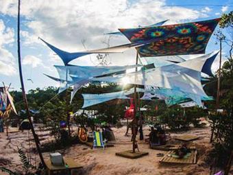 Evento será realizado na Cratera Lunar, onde ficava um dos maiores garimpos da região - Foto: Reprodução l ressonar-festival.com.br