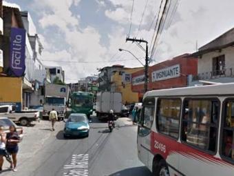 Transalvador recomenda que os motoristas evitem a área durante a realização das obras - Foto: Reprodução | Google Street View