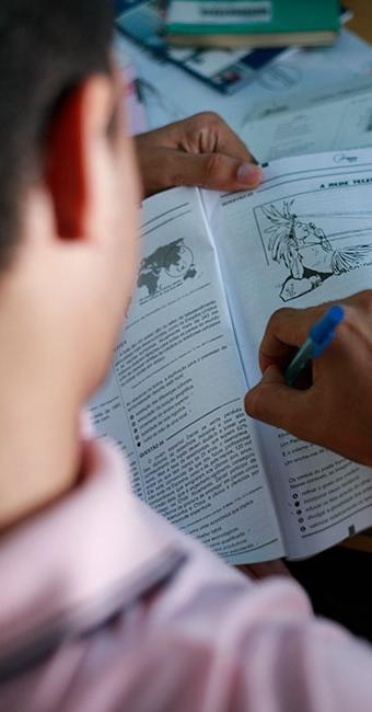 A nota é uma resposta à denúncia de alunos com distúrbios que foram desclassificados do Exame - Foto: Joá Souza | Ag. A TARDE