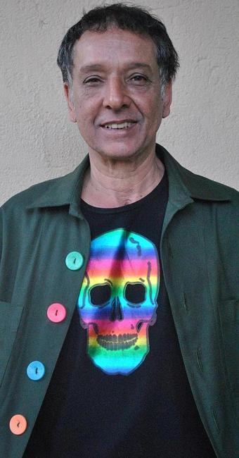 Arnaldo Baptista, cantor, compositor, multi-instrumentista e ex-integrante do grupo Os Mutantes - Foto: Fabiana Figueiredo | Divulgação