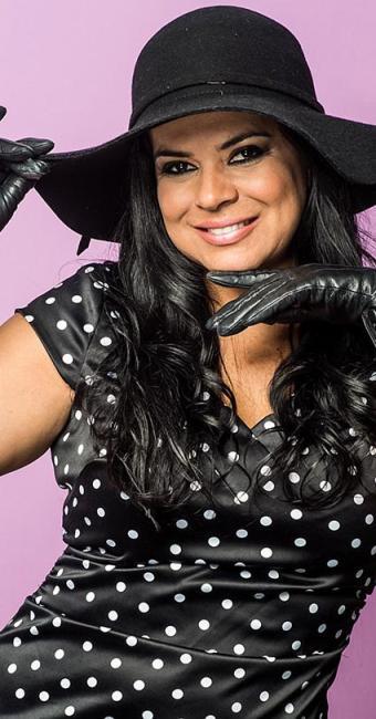 Mara Maravilha, apresentadora - Foto: Divulgação