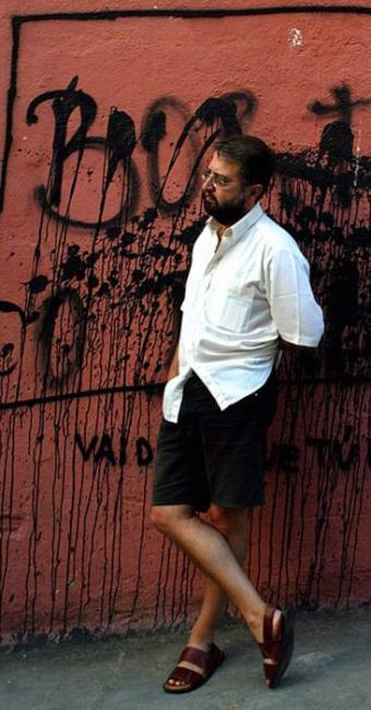 Marcelo Mirisola completa 50 anos em maio - Foto: Gustavo Stephan l Agência O Globo