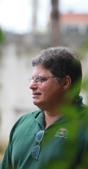 Ricardo Abude coordena o Centro de Meditação de Salvador (CMS) - Foto: Xando Pereira | Ag. A TARDE