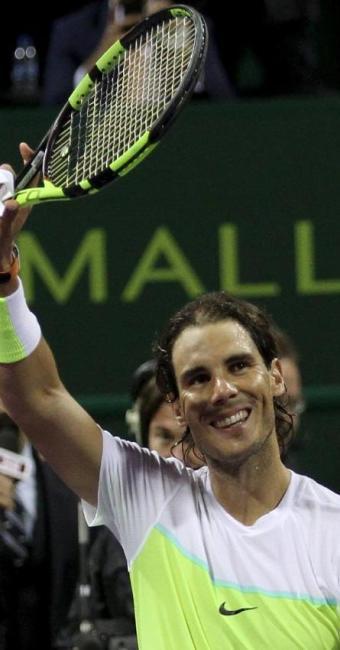 O tenista espanhol precisou jogar por 2h07min para despachar o atual 79º colocado da ATP - Foto: Naseem Zeitoon | Agência Reuters